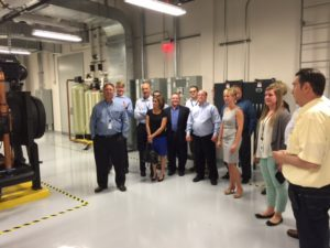 HHIT employees getting educated on the latest advancements in our Tier III data center.