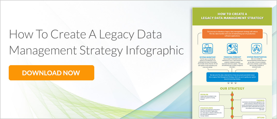 Creating a Legacy Data Management Strategy