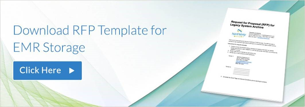 request for bids template - sample request for proposal rfp template for emr storage