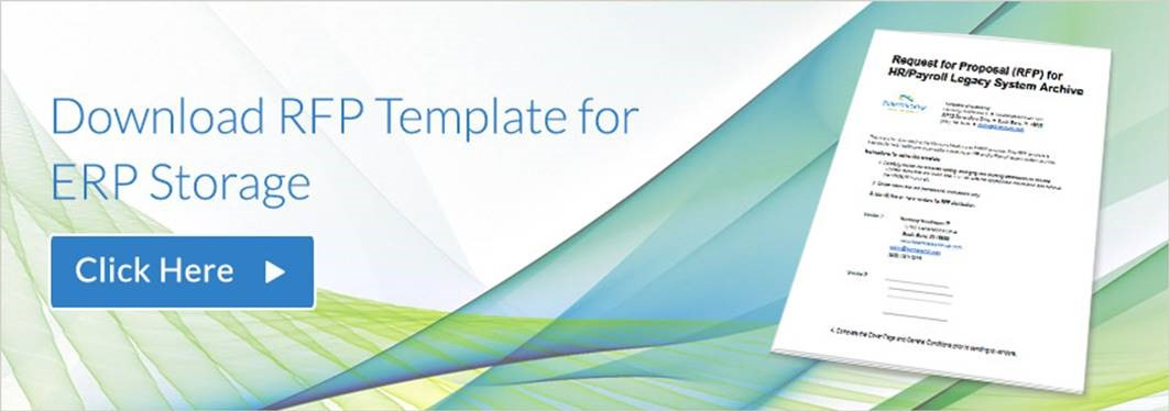 Sample Rfp Template For Hr System Erp Data Storage  Hda